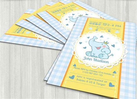 baby shower card template psd 30 high quality psd invitation mockup templates free
