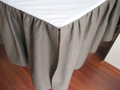 Crib Skirt Dust Ruffle by Ruffle Crib Skirt Dust Ruffle Bedskirt Base By Nurdanceyiz
