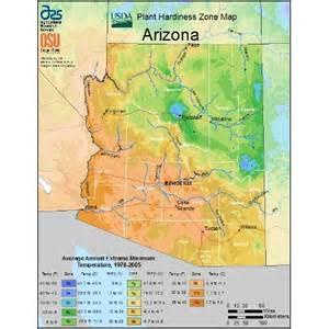 arizona agriculture map find arizona on new usda plant hardiness map college of