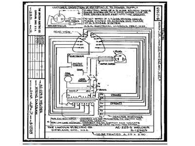 lincoln 225 arc welder diagram lincoln free engine image for user manual