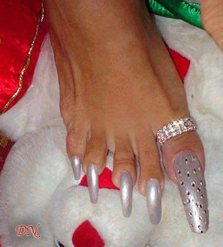 Long Nails Meme - silver long toe nails strange pinterest long