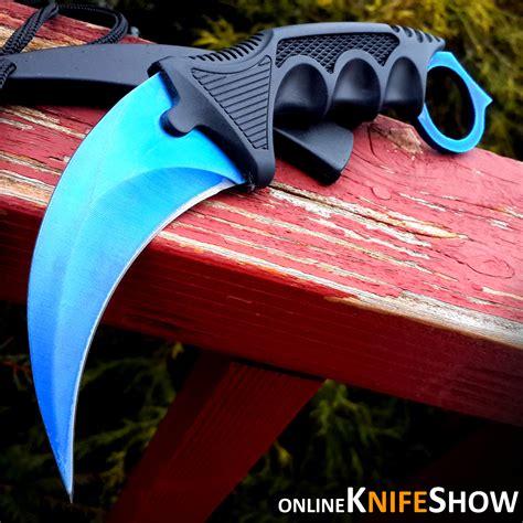 go knives 7 5 quot cs go tactical knife combat karambit neck knife