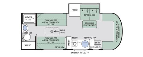 class b rv floor plans 100 class b rv floor plans poulsbo rv new 2015
