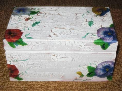 como decorar una caja de madera con servilletas recetas plantas y reflexiones caja de madera con