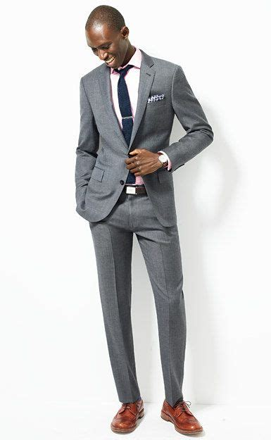 dark brown belt light brown shoes grey suit black tie brown shoes misc pinterest
