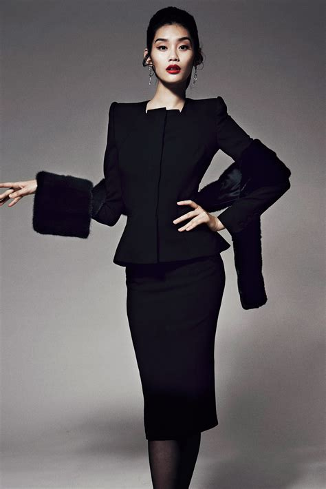 Get The Zac Posen Look For A At Oasis by Ming Xi For Zac Posen Pre Collection Elitemodelcopenhagen