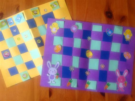 craft paper placemats easter placemat crafts for