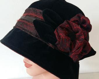 Abby Autumn Hat Navy by Downton Hats Etsy