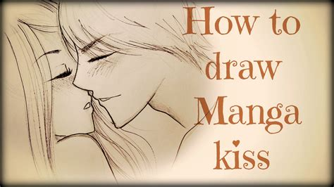 how to kiss tutorial with pictures drawing tutorial how to draw a couple kissing youtube