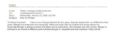 sample cover letter for babysitting job reference letter for