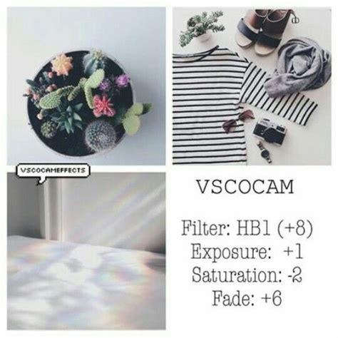 tutorial vscocam tumblr hb1 8 exposure 1 saturation 2 fade 6 vsco cam