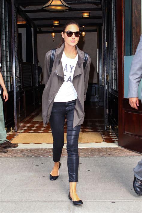 Gal Gadot Wardrobe by Gal Gadot Fashion Out In New York City July 2015