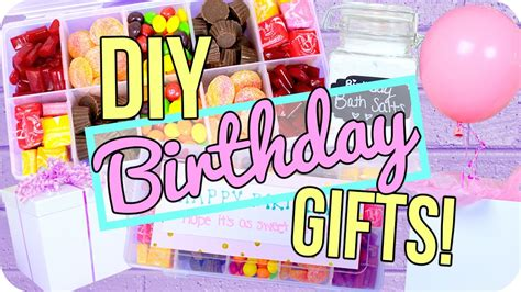 How To Make Handmade Gifts For Birthday - easy diy birthday gifts