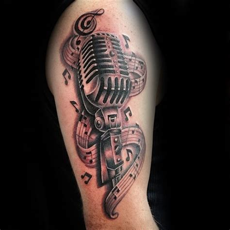 music design tattoo ideas 111 beautiful note tattoos designs ideas golfian