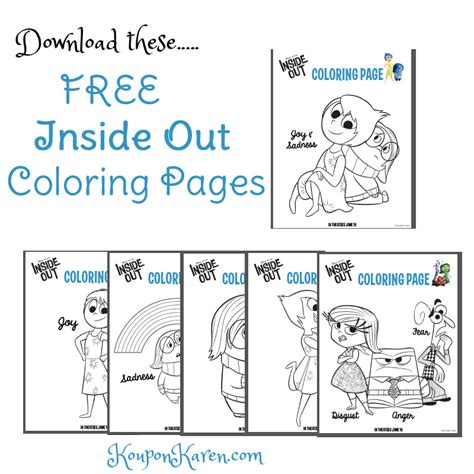 inside out coloring pages games inside out coloring book games disney pixar pages inside