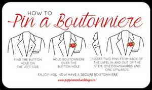 bout 101 how to pin a boutonniere toronto luxury