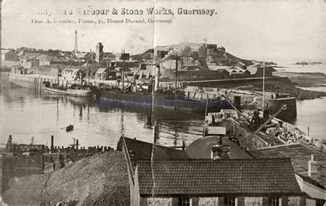 Great Britain St Fd Cover 2004 A Journey Wales St photos from history deane photographic archives st sson s harbour works guernsey