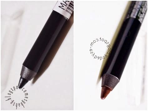 Pensil Kayu Raut lunatic vixen review make eye liner pencil brown latte black