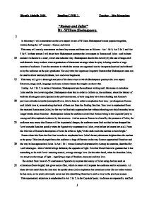 Romeo And Juliet Character Analysis Essay Prompt by Romeo And Juliet Essay Questions