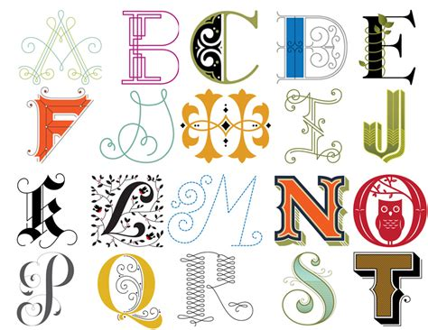 typography designing your own alphabet twenty century and design