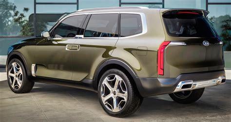 Kia Seven Seater Suv Kia Telluride Concept Previews Premium 7 Seat Suv Image 427538