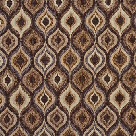 geometric fabric upholstery e703 gold and dark brown woven geometric upholstery fabric