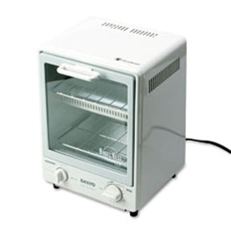 Sanyo Toaster Oven Sanyo Sk7w Toasty Plus Toaster Oven Snack Maker