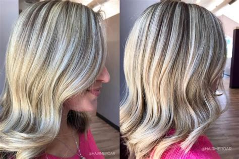 lowlighting hair after all over bleach photos cool blonde highlights and lowlights women