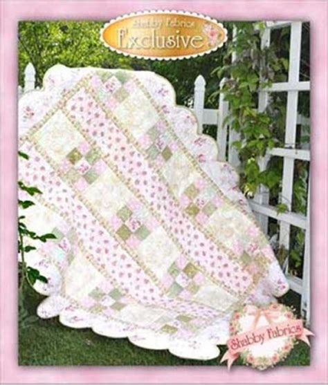 daddy s girl quilt pattern 48x62 by shabby fabrics