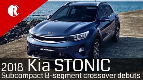 Kia Subcompact Suv by New Kia Stonic Subcompact Suv