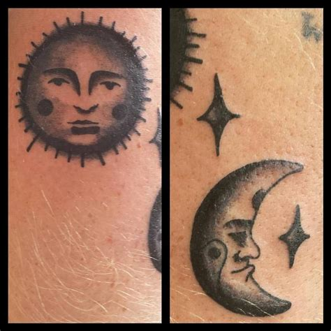 traditional sun tattoo american traditional sun moon by stefanee schofield