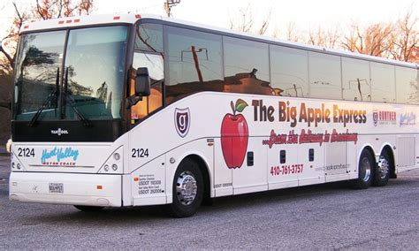 ride to new york city hunt valley motor coach