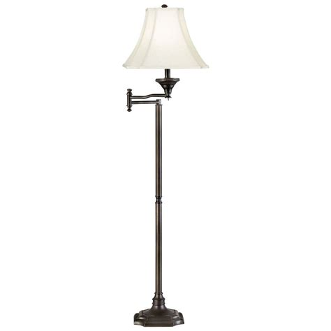 kenroy home wentworth 59 in burnished bronze swing arm