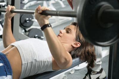 what does benching do how much can the average female bench press healthy living