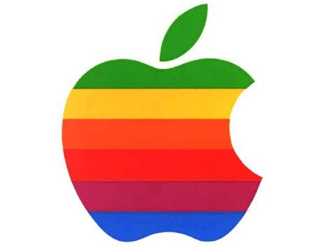colored apple rainbow colored apple logo for mini free