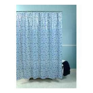 spanish shower curtain essential home shower curtain spanish tile blue vinyl