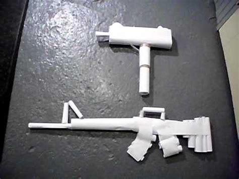How To Make A Paper M16 - my paper m16 gun mini uzi