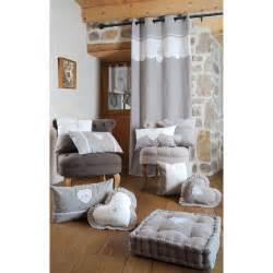 rideau vitrage blanc romantique c蜩ur brod 233 ruban 224 nouer