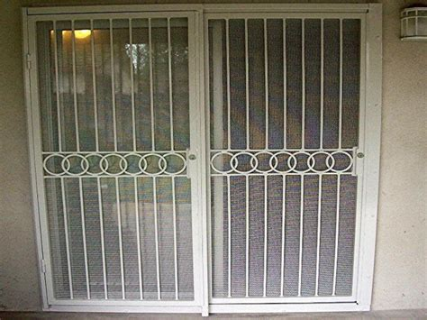 Security Door For Sliding Glass Door Sliding Glass Doors Security Locks Home Design Ideas