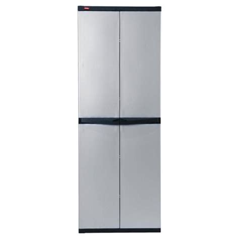 Keter Storage Cabinet Buy Keter Utility 4 Shelves Cabinet Grey From Our Outdoor Storage Range Tesco