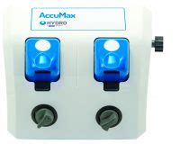 accumax | versatile chemical dispenser | hydro systems co