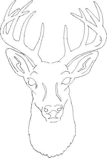 reindeer head pattern use the printable outline for free deer head patterns scroll saw patterns gt medium