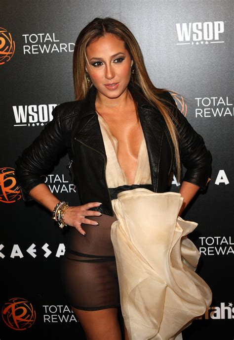 Adrienne Bailon Wardrobe by Warning Contains Adrienne Bailon Has A
