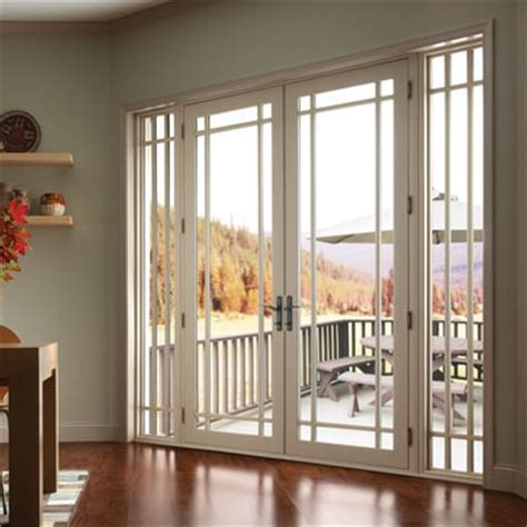 Sliding Door With Sidelights Vinyl Doors With Sidelights And Marginal Grids Yelp