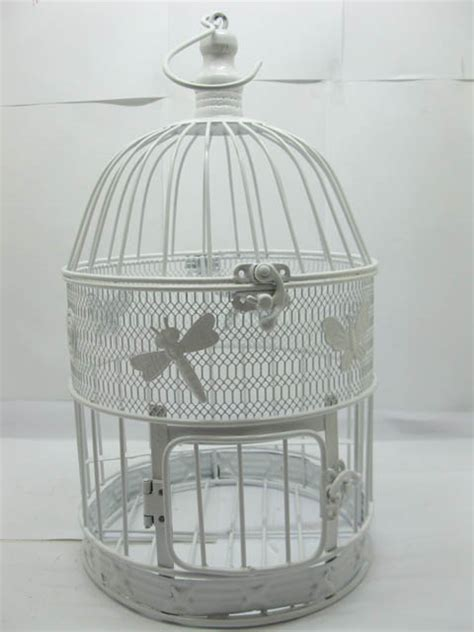 1set white round flying butterfly luxury hanging bird cage ebay