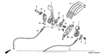 honda hrc216 parts honda hrc216 hxa lawn mower usa vin mzan 6000001 to