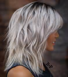 gray shag haircuts 90 sensational medium length haircuts for thick hair