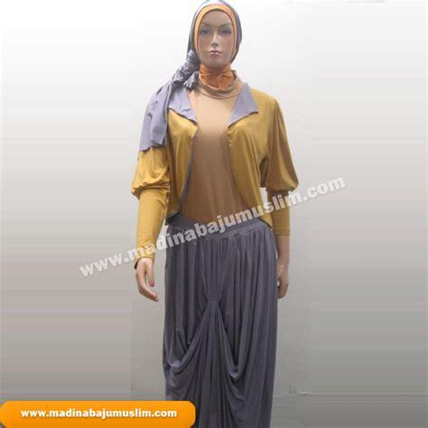 Baju Wanita Baju Muslim Wanita Stelan Atasan Vika Set stelan 9 madina griya busana muslim busana muslim