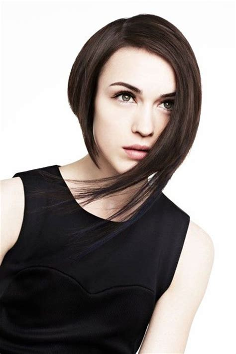 short hair longer on one side 15 best asymmetrical bob hairstyles short hairstyles