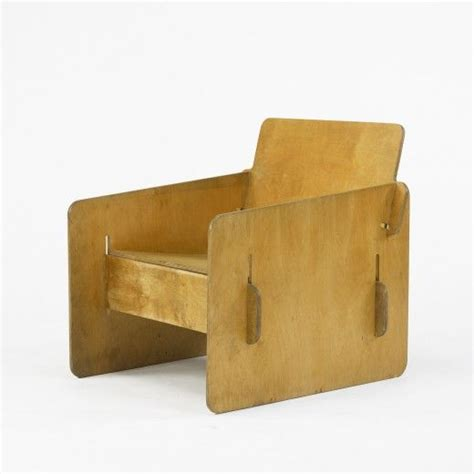 plywood armchair reminds me of the flw furniture in some of his usonians this anonymous birch plywood